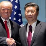 Donald Trumps største udfordring på hans rundrejse i ti dage til fem lande i Asien hedder Kina.