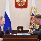 Putin luger ud i sine guvernører. Torsdag blev Andrej Turtjak fra Pskov-regionen den 11. regionale leder, der har mistet jobbet de seneste tre uger. Foto: Kremls pressetjeneste