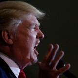 Donald Trump skal finde sine sidste republikanske vælgere på landet. Foto. Carlo Allegri/Reuters