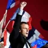 Den franske præsidentkandidat Emmanuel Macron er klart pro-europæisk - men ikke entydigt ukritisk over for EU.