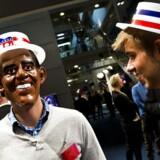 Sidst der var præsidentvalg i 2012 afholdt TV2 i København en stor valgfest. Her var spørgsmålet, om Barack Obama skulle være præsident igen.