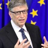 Mangemilliardæren og filantropen Bill Gates opfordrer under et besøg i Bruxelles de europæiske lande til at bevare presset for at få andre lande til at investere i international udvikling og sygdomsbekæmpelse.