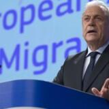Dimitris Avramopoulos. Foto: EPA / OLIVIER HOSLET