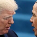 Forskellene mellem præsident Trump og hans forgænger kunne på mange områder ikke være større.