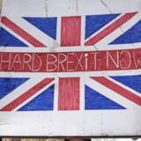 EU's leder for Brexit-forhandlingerne, Michel Barnier, kræver nu 418 milliarder danske kroner i skilsmissepenge. EPA/HAYOUNG JEON