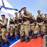 Russiske sømænd i aktion.