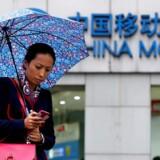 China Mobile er verdens største mobilselskab men nægtes nu adgang til USA. Arkivfoto: Aly Song, Reuters/Scanpix