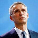 Stoltenberg erkender, at »politiske stormskyer« trækker sig sammen over de bånd, der har bundet Natos medlemslande sammen siden midten af forrige århundrede.