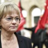 Folketingets formand, Pia Kjærsgaard (DF), har i dag stået skoleret over for Folketingets Præsidium. Det skete, fordi hun har kaldt Europa-Parlamentet for »en rotterede«.