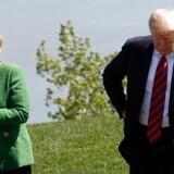 Forleden mødtes Angela Merkel og Donald Trump til G7-topmøde i Canada. Nu langer den amerikanske præsident ud efter kanslerens flygtningepolitik på twitter.