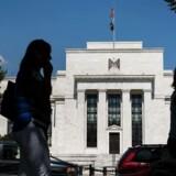 Arkivfoto. Den amerikanske dollar bevæger sig sidelæns onsdag morgen, hvor investorernes hovedinteresse samler sig om udfaldet af dagens pengepolitiske møde i den amerikanske centralbank, Federal Reserve.