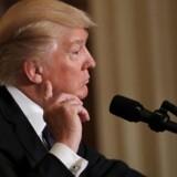 Efter historiske mange kovendinger på bare et døgn ligner Donald Trump lige nu en tradtionel amerikansk præsident. REUTERS/Carlos Barria