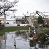 Svendborg dagen efter stormfloden torsdag 5 januar 2017. Foto: Kim Rune