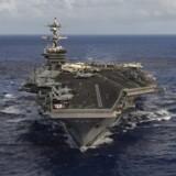 USA har omdirigeret en gruppe af flådeskibe - anført af hangarskibet USS Carl Vinson - til farvandet omkring den koreanske halvø.
