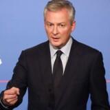 Den franske finansminister Bruno Le Maire