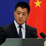 »Efter at USA har aktiveret tariffer rettet mod Kina, så har Kinas tiltag mod USA fået virkning omgående,« siger Lu Kang i udenrigsministeriet.