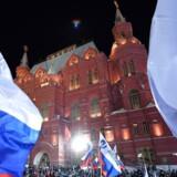 Udenrigsminister Anders Samuelsen (LA) vil på pressemøde klokken 15 oplyse om Danmarks sanktioner mod Rusland efter giftangreb mod russisk eksspion i Storbritannien. / AFP PHOTO / Kirill KUDRYAVTSEV