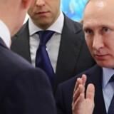 Den russiske præsident, Vladimir Putin.