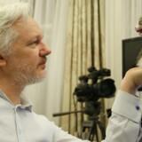 Stifteren af WikiLeaks, Julian Assange. (Foto: HANDOUT/Scanpix 2016)