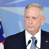 Der hersker ingen tvivl om USAs fulde opbakning til NATO-samarbejdet. Det slår USAs nye forsvarsminister, James Mattis, fast.