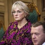 »Jeg synes, det er voldsomt og overraskende. Vi får mange penge, og 52 ekstra millioner er vældig meget,« siger Pia Kjærsgaard om den aftale, som et bredt flertal af Folketingets partier har indgået.