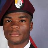 Ifølge beskyldninger fra et medlem af Kongressen sagde præsident Donald Trump til enken efter den amerikanske soldat La David Johnson, der blev dræbt i Niger, at han vidste, hvad han gik ind til, men jeg går ud fra, at det alligevel gør ondt. Scanpix/-