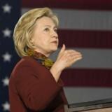 Demokraternes præsidentkandidat, Hillary Clinton, er Ruslands fjende nummer et. Det mener i hvert fald den russiske præsident, Vladimir Putin.