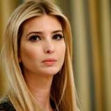 Ivanka Trump kan have været udslagsgivende for, at hendes far, præsident Donald Trump, valgte at angribe Syrien i sidste uge. REUTERS/Kevin Lamarque
