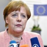 Forbundskansler Angela Merkel.