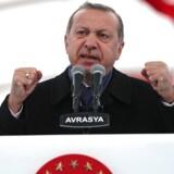 Arkivfoto. Attentatet på den russiske ambassadør Andrej Karlov er bare endnu et tegn på, at Tyrkiets præsident, Recep Tayyip Erdogan, risikerer at miste kontrollen over Tyrkiet som en af konsekvenserne af borgerkrigen i Syrien.