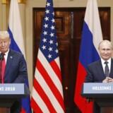 Præsident Trump og præsident Putin møder pressen i Helsinki, og stemningen var yderst positiv.