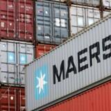 Den optrappede handelskrig mellem USA og Kina vil gøre ondt på Mærsks bundlinje, lyder det fra analytikere. Arkivfoto PATRIK STOLLARZ/Scanpix 2018
