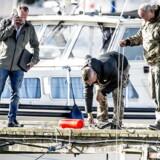ARKIV: Eftersøgning efter resterne af Kim Walls lig ved Dragør Havn på Amager fredag den 25. august 2017.