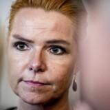Arkivfoto. Udlændinge- og integrationsminister Inger Støjberg (V) besøgte i går Bispeparken i Københavns Nordvestkvarter for at føre valgkamp med Venstres spidskandidat i hovedstaden, Cecilia Lonning-Skovgaard. V-spidsen placerer sig på den samme udlændingepolitiske fløj i Venstre som Støjberg.
