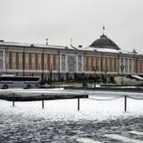 Kremls bygning 1, hvor Præsident Vladimir Putin har kontor / AFP PHOTO / Alexander NEMENOV