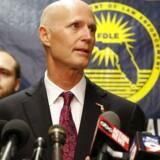 Floridas guvernør Rick Scott. Foto: Mike Carlson/ Getty Images