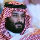 Saudi-Arabiens kronprins Muhammed Bin Salman vil indføre en moderat form for islam i kongeriget. 24. oktober 2017 / AFP PHOTO / FAYEZ NURELDINE