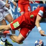 Bjarte Myrhol og det norske landshold slog tirsdag Østrig ved EM, selv om optakten blev præget af sagen om Nora Mørks private billeder. Reuters/Antonio Bronic