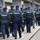 Politiet må hver dag håndhæve loven hundredvis af gange. Men hvilke love bryder danskerne mest? (Foto: Jens Nørgaard Larsen/Scanpix 2017)