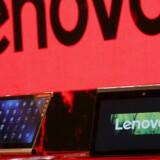 Lenovo er igen verdens største PC-producent. Arkivfoto: Bobby Yip, Reuters/Scanpix