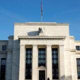 Arkivfoto. Der er pendulsving på valutamarkedet tirsdag morgen, hvor markedsdeltagernes interesse samler sig om onsdagens afslutning af det pengepolitiske møde i den amerikanske centralbank, Federal Reserve.