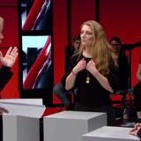 De Radikales værdiordfører gik torsdag aften i DR 2-programmet 'Debatten' til angreb på udlændingeminister Inger Støjberg og det signal, hendes kagebillede på Facebook sender. Det promoverer og blåstempler en afstumpethed, mener Stampe. Det var som altid Clement Kjersgaard (tv), der styrede løjerne i 'Debatten', mens Venstres udlændinge- og integrationsordfører Marcus Knuth (th) også deltog i programmet. FOTO: Screendump fra DR2.
