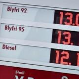 Arkivfoto: »Det er særligt tøj og benzin, der bidrager til den lidt højere stigning i september end august«, lyder det blandt andet fra Danmarks Statistik.