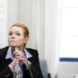 Udlændigeminister Inger Støjberg (Foto: Liselotte Sabroe/Scanpix 2016)