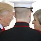 De historisk tætte bånd mellem Storbritannien og USA blev understreget af både Præsident Donald Trump og premierminister Theresa May, da hun som den første statsleder var på besøg hos Trump i Det Hvide Hus fredag. Foto: Carlos Barria / Reuters