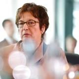 Amerikanske sanktioner strider mod international lov, advarer Tysklands økonomiminister, Brigitte Zypries.