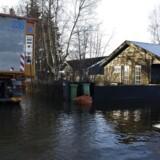 Arkivfoto: Stormen Urd ramte Danmark 27. december og medførte oversvømmelser flere steder. I løbet af det næste døgn kommer efterdønningerne, som ifølge DMI rammer som stormflod flere steder.