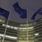 Hovedkvarter for EU-Kommissionen i Bruxelles. (Foto: EPA/OLIVIER HOSLET)