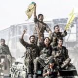 Vil USA drage fordel af sejren eller lade det syriske regime, Rusland og Iran kæmpe med kurderne om det frem- tidige herredømme?