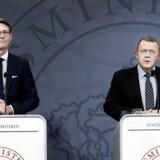 »Vi kommer til at få et skattevæsen, som bliver meget bedre, end det, der er i dag,« sagde skatteminister Karsten Lauritzen (V) ved præsentationen af regeringens planer for fremtidens skattevæsen. Det skete sammen med statsminister Lars Løkke Rasmussen (V).